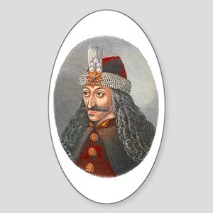Vlad the Impaler Oval Sticker
